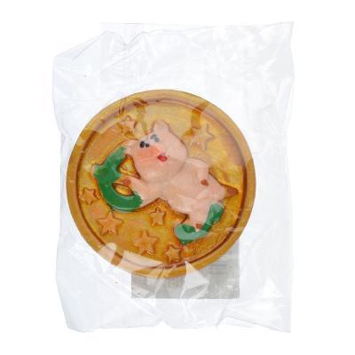 359-648 СНОУ БУМ Магнит Символ года, полистоун, 4,3 см, 5 видов