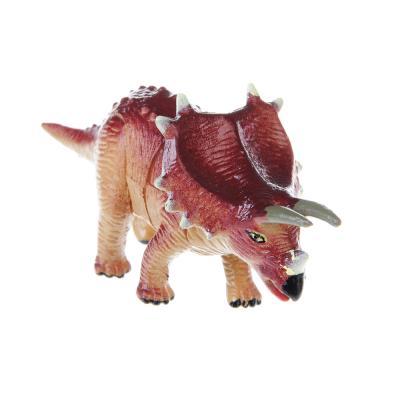 """274-114 ИГРОЛЕНД Фигурка-пазл """"Динозавр"""", коллекционная, 6-10см, в пакете,10х14х4см, пластик, 7-28 деталей"""