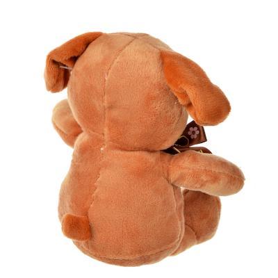 264-179 МЕШОК ПОДАРКОВ Игрушка плюшевая в виде животных, 18 см, плюш, 4 дизайна