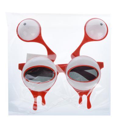 391-198 Очки карнавальные, пластиковые, 15,5х16,5 см, в форме глаз, СНОУ БУМ