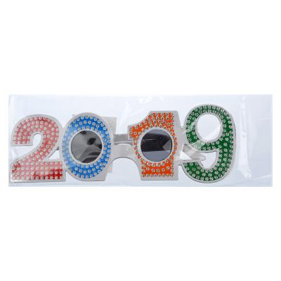 391-201 Очки карнавальные, пластиковые, 19,5х6 см, 2019, СНОУ БУМ