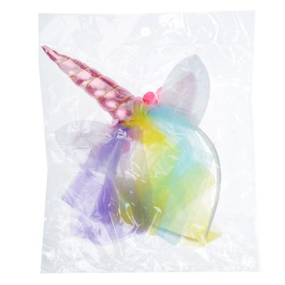 343-090 Ободок карнавальный, полиэстер, 40х20 см, 2 цвета, СНОУ БУМ