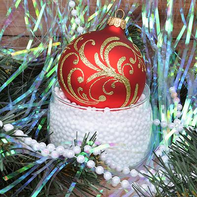399-071 СНОУ БУМ Снег искусственный в шариках, пакет 26г