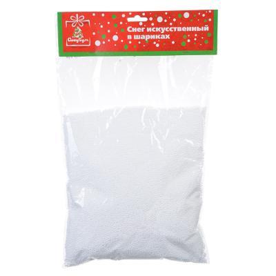 399-073 Снег искусственный в снежинках, пакет 35 гр, СНОУ БУМ