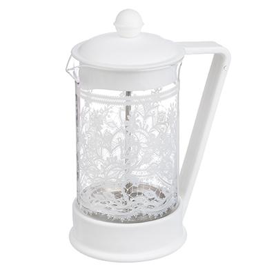 850-178 Френч-пресс 600 л VETTA Кружево, стекло/пластик