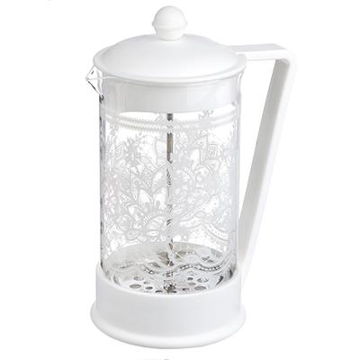 850-179 Френч-пресс 1,0 л VETTA Кружево, стекло/пластик