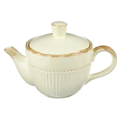 """820-685 Чайник заварочный керамический, 850 мл, MILLIMI """"Ваниль"""""""