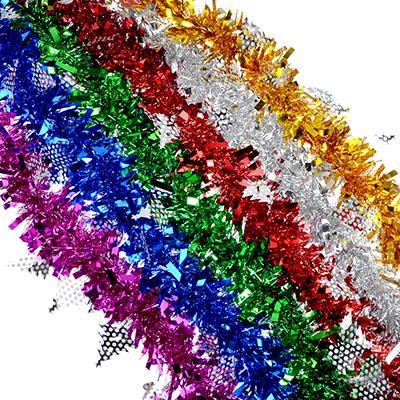 377-325 СНОУ БУМ Мишура 9x200см, ПВХ, 6 цветов, арт6