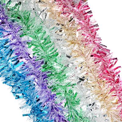 377-330 СНОУ БУМ Мишура 11x200см, ПВХ, 6 цветов, арт11