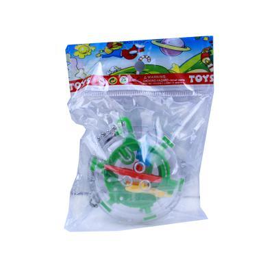 297-040 Головоломка шар-лабиринт мини, 5,8х4х5,8см, пластик