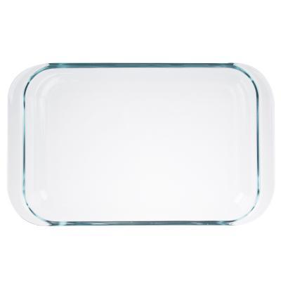 825-010 Форма для запекания жаропрочная, с ручками, стекло, 3,5л, SATOSHI