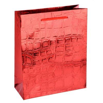 507-907 Пакет подарочный, 19,5х23,5х8 см, высококачественная бумага, 3 цвета, арт 120