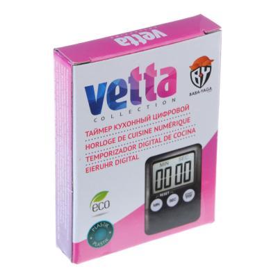 884-421 Таймер кухонный цифровой, VETTA