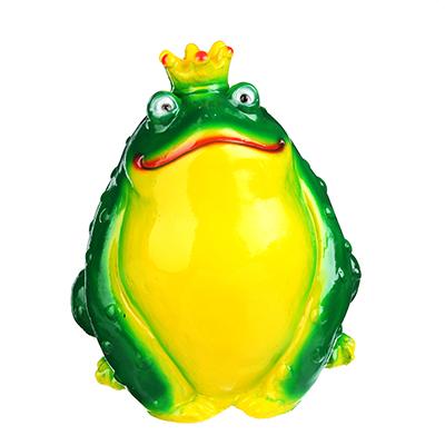 511-169 Копилка в виде Царевны-лягушки, 22х20 см, гипс, арт.299