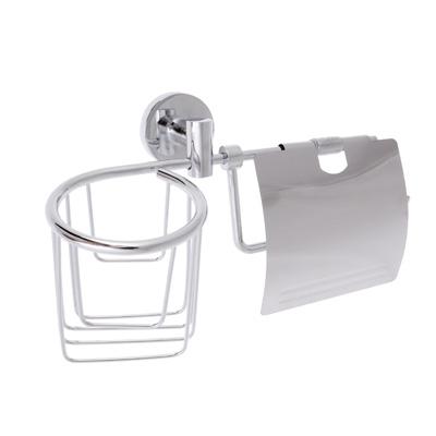 S05-004 Детжатель для туалетной бумаги с корзиной, SonWelle F-045