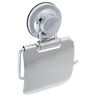 S05-009 Держатель для туалетной бумаги, хром, вакуумное крепление, SonWelle Вакуум, арт. BIC-0972С