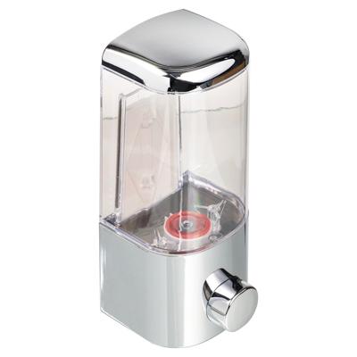 S05-021 Дозатор для мыла 500 мл, 8,5х8,5х20 см, пластик хром, SonWelle HS-40802