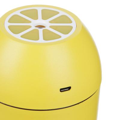 246-008 LEBEN Увлажнитель воздуха настольный USB в виде лимона, 7,5x11,5см, с подсветкой, 180мл