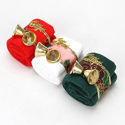 359-677 Полотенце подарочное, микрофибра, 30х30 см, 3 цвета, 7,5х10,5х7,5 см