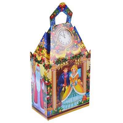"""369-352 Коробка подарочная """"Замок"""", 14,6х8,3х16,5 см"""