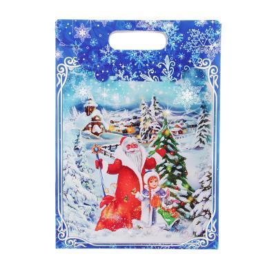 """369-353 Коробка подарочная """"Голубой домик"""", 22,8х9,9х31,1 см"""