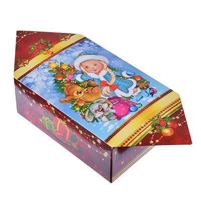 "369-354 Коробка подарочная ""Конфета"", 10,5х5,5х14,4 см"