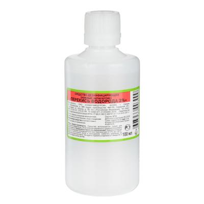 360-138 Перекись водорода 3 %,  Дезинфецирующее средство
