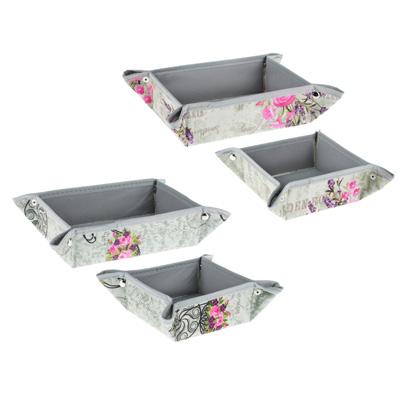 457-409 VETTA Прованс Набор коробок для хранения мелочей 18х12х5 ,12х12х5 см, 2 дизайна
