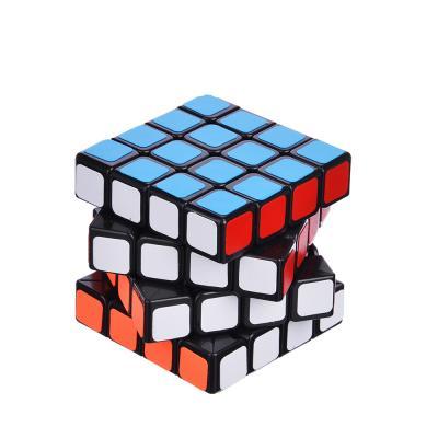 "295-141 Кубик-головоломка ""Собери цвета"" черная, пластик, 6,2х6,2х6,2см"