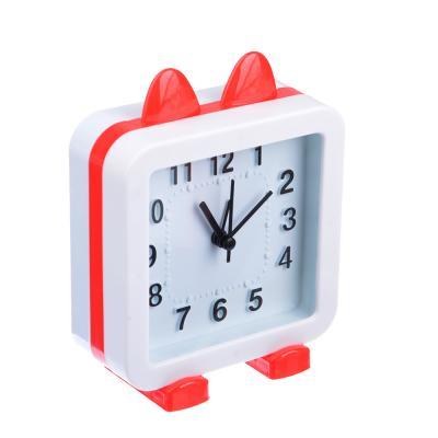 529-149 Будильник электронный, пластик, 13,5х10,5х5,2 см, 1хАА, 2 цвета