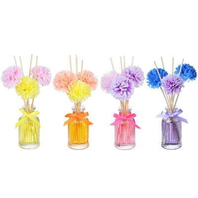 412-005 LADECOR Ароманабор 50мл с декором, с ароматами фрезии, цветочного сада, орхидеи, фиалки