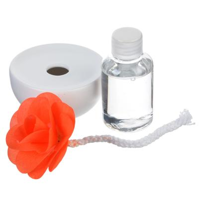 412-006 LADECOR Ароманабор 50мл с керамич. диффузором, с ароматами фиалки, орхидеи,фрезии,цветочного сада