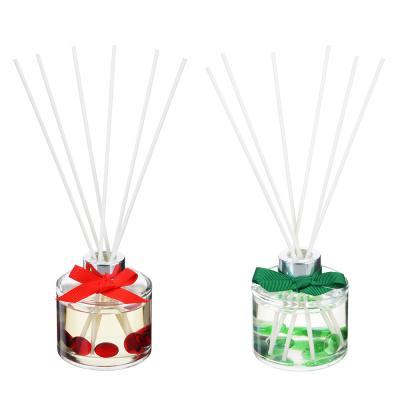 412-014 LADECOR Ароманабор 100мл с палочками, с ароматами рождественского пряника, ванили-мандарина