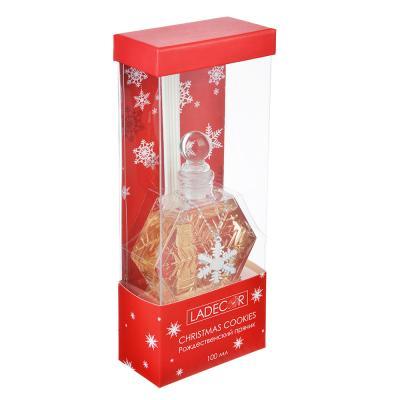 412-015 LADECOR Ароманабор 100мл с палочками, с ароматами рождественского пряника