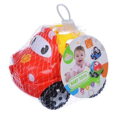 866-014 Машинка-погремушка, пластик, 12х9х11см