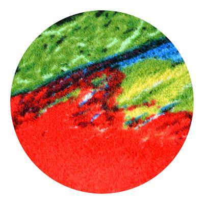 """484-879 Полотенце пляжное махровое, велюр,  70х140см, """"Пляж"""""""