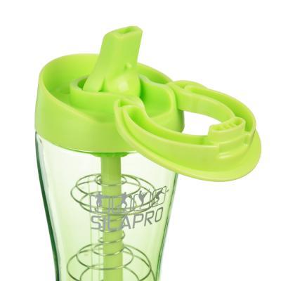 088-011 SILAPRO Шейкер для спортивного питания 23,5х7,5см, венчик, 650мл, пластик, силикон