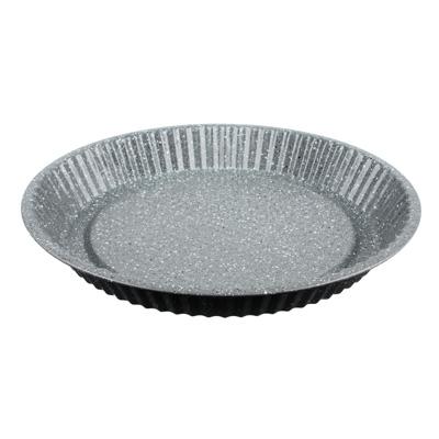 849-143 Форма для выпечки d.28 см SATOSHI, круглая, антипригарное покрытие мрамор