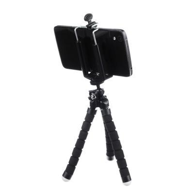 470-024 BY Штатив для телефона, гибкий, прорезиненный, 24 см, 1 цвет: черный