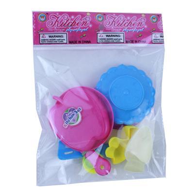 294-065 Посудка детская, 7пр., пластик, 13х18х3см, 2 дизайна