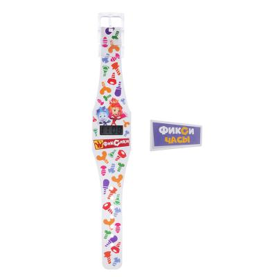 C12-003 Часы электронные Фиксики, браслет TYVEK®, 25х6,5х1см