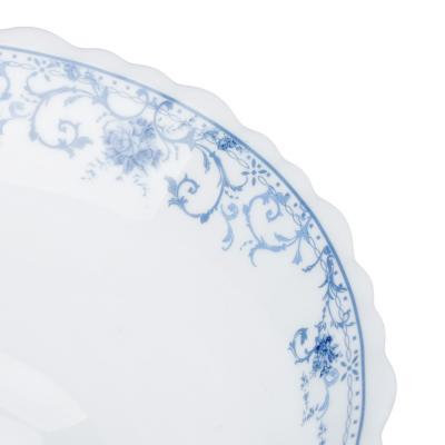 """818-583 Салатник d. 23 см, опаловое стекло, MILLIMI """"Ариадна"""""""