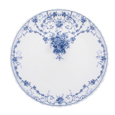 "818-585 Тарелка десертная d.21,5 см, опаловое стекло, MILLIMI ""Ариадна"""