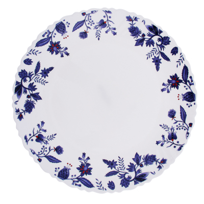 """818-608 Тарелка десертная d. 21,5 см, опаловое стекло, MILLIMI """"Таис"""""""