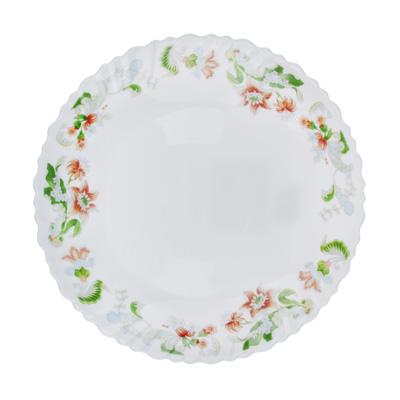 "818-675 Тарелка десертная, опаловое стекло, 21,5 см, MILLIMI ""Серсея"""