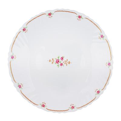 "818-102 Тарелка десертная d.19 см, опаловое стекло, MILLIMI ""Наяда"""