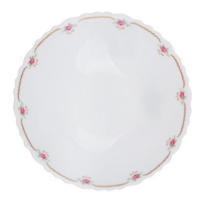 """818-104 Салатник d.16,5 см, опаловое стекло, MILLIMI """"Наяда"""""""