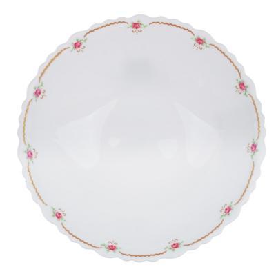 """818-105 Салатник d.19 см, опаловое стекло, MILLIMI """"Наяда"""""""