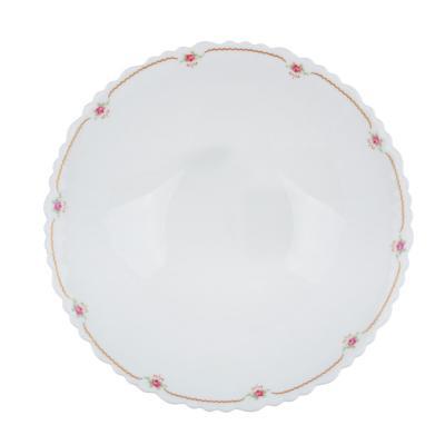 """818-106 Салатник d.24 см, опаловое стекло, MILLIMI """"Наяда"""""""