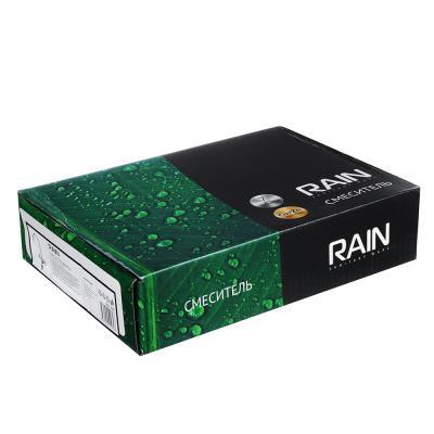 """561-265 Смеситель для кухни, высокий излив, гайка, латунь, """"Жемчуг"""" RAIN"""